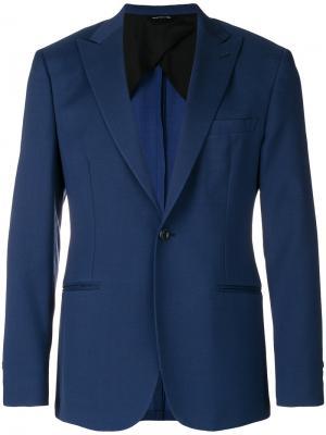 Классический пиджак Tonello. Цвет: синий
