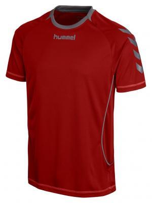 Футболка FUNCTIONAL JERSEY HUMMEL. Цвет: темно-красный