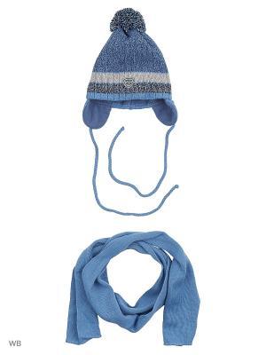 Комплект Agbo. Цвет: синий, светло-серый