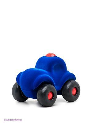 Игрушка Машина полиция Rubbabu. Цвет: синий, черный