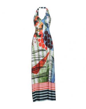 Длинное платье CLOVER CANYON. Цвет: слоновая кость