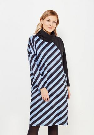Платье Chic de Femme. Цвет: черный