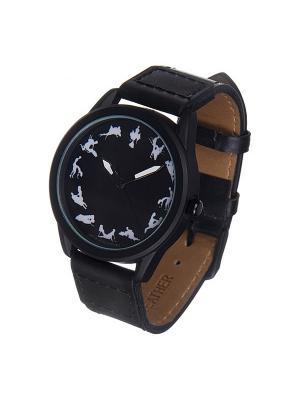 Часы Mitya Veselkov Камасутра на чёрном. Цвет: черный