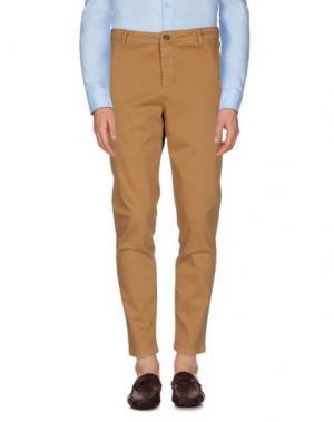 Повседневные брюки DERRIÉRE. Цвет: верблюжий
