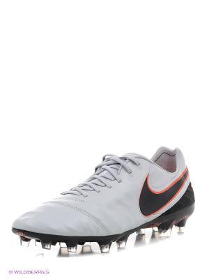 Бутсы TIEMPO LEGEND VI FG Nike. Цвет: черный