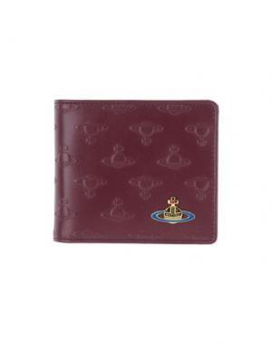 Бумажник VIVIENNE WESTWOOD. Цвет: баклажанный