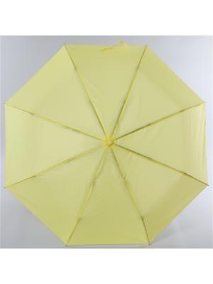 Зонт Torm, Женский, 3 сложения, Автомат,  Полиэстер Torm. Цвет: желтый