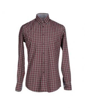 Pубашка QUEENSWAY. Цвет: красно-коричневый