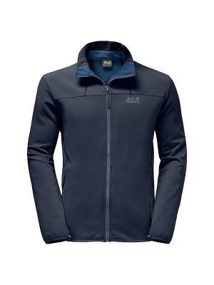 Куртка ELEMENT ALTIS MEN Jack Wolfskin. Цвет: темно-синий