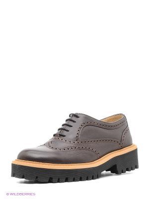Туфли Gavary. Цвет: коричневый