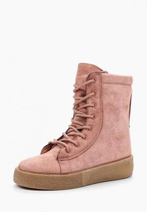 Ботинки Y & L. Цвет: розовый