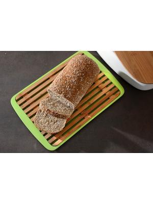 Доска хлебная 36х24 BergHOFF. Цвет: коричневый, салатовый
