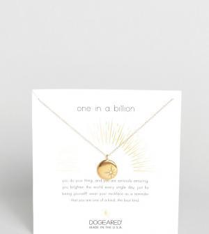 Dogeared Позолоченное ожерелье с кристаллами Swarovski. Цвет: золотой