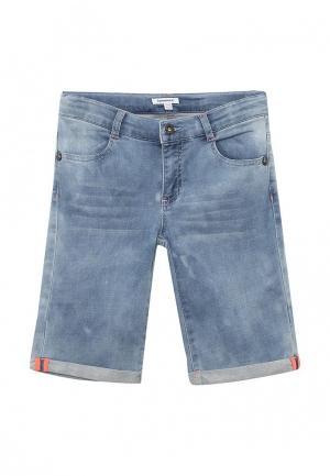 Шорты джинсовые 3 Pommes. Цвет: голубой