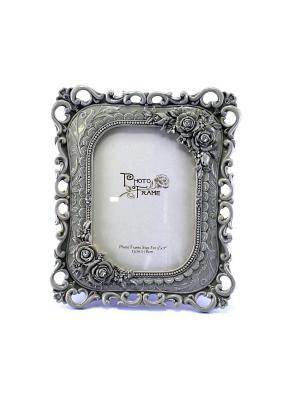 Рамка для фото Барокко essentic  арт.51154. Цвет: серый