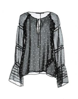 Блузка ANNARITA N.. Цвет: черный
