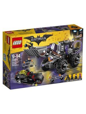 Batman Movie Разрушительное нападение Двуликого 70915 LEGO. Цвет: синий