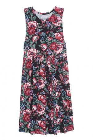 Хлопковое платье (1980-е) Pierre Cardin Vintage. Цвет: multicolor