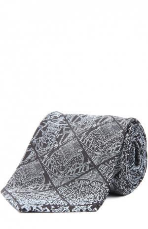 Галстук Fabric Frontline. Цвет: серый