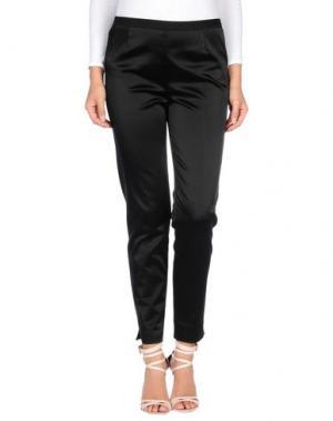 Повседневные брюки SUPER. Цвет: черный