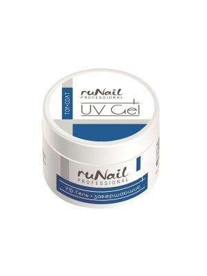 Завершающий УФ-гель, 15 гRuNail Professional 73 RuNail. Цвет: белый