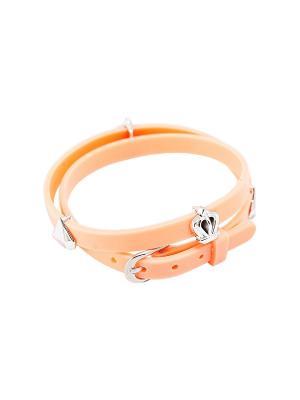 Браслет Kameo-bis. Цвет: оранжевый, серебристый