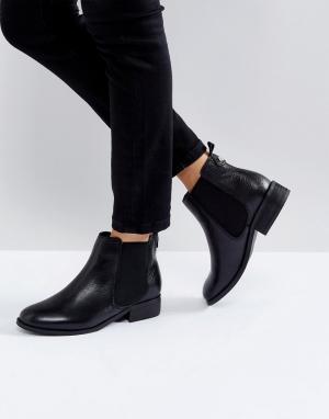 Carvela Кожаные ботинки челси. Цвет: черный