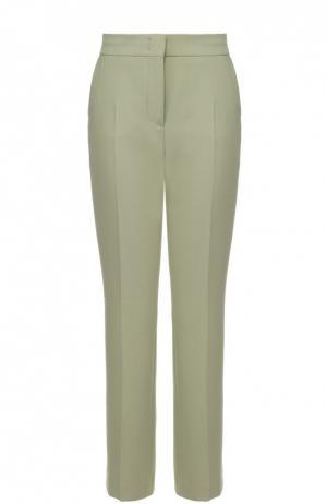 Укороченные расклешенные брюки со стрелками Dorothee Schumacher. Цвет: зеленый