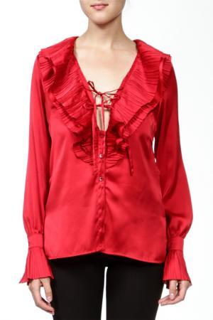 Блуза Marly's. Цвет: красный