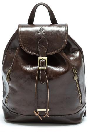 Рюкзак ANNA LUCHINI. Цвет: dark brown