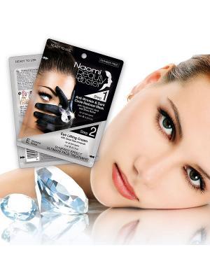Комплексный уход за кожей - крем-маска против морщин вокруг глаз Naomi Dead Sea Cosmetics. Цвет: черный