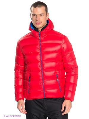 Куртка CMP. Цвет: красный