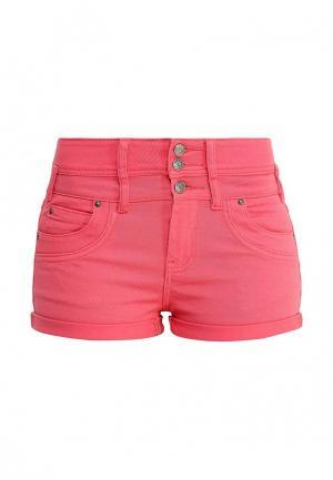 Шорты джинсовые Lucid. Цвет: розовый