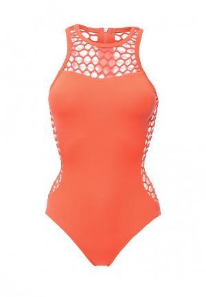 Купальник Seafolly. Цвет: оранжевый