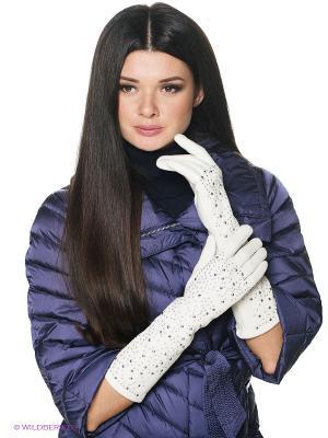 Перчатки Labbra. Цвет: белый