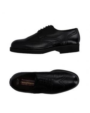 Обувь на шнурках VALLEVERDE. Цвет: черный