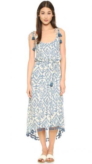 Платье Ursula Love Sam. Цвет: фигурный принт amit