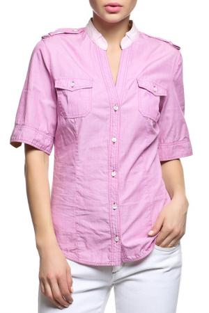 Рубашка Alviero Martini. Цвет: фиолетовый