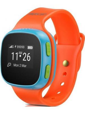 Смарт-часы SW10 Alcatel. Цвет: голубой, оранжевый