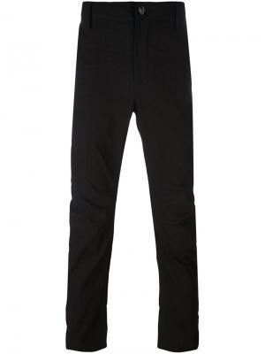 Зауженные брюки Uma Wang. Цвет: чёрный
