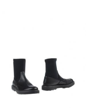 Полусапоги и высокие ботинки DIRK BIKKEMBERGS. Цвет: черный