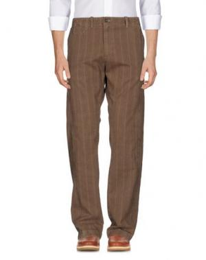 Повседневные брюки MARLBORO CLASSICS. Цвет: хаки