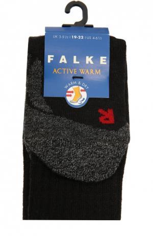 Утепленные носки Active Warm Falke. Цвет: черный