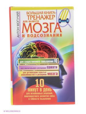 Большая книга-тренажер для вашего мозга и подсознания Издательство АСТ. Цвет: красный