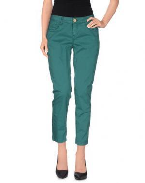 Повседневные брюки NELL&ME. Цвет: зеленый