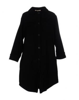 Пальто TROU AUX BICHES. Цвет: черный