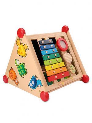 Развивающий центр I'm Toy. Цвет: бежевый (осн.), красный (осн.)