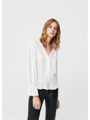 Белая Прозрачная Блузка В Уфе
