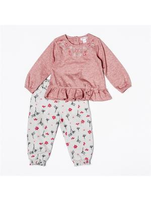 Комплект одежды BABALUNO. Цвет: розовый, синий