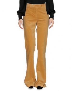 Повседневные брюки QL2 QUELLEDUE. Цвет: охра